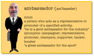 The Rideshare Ambassador definition